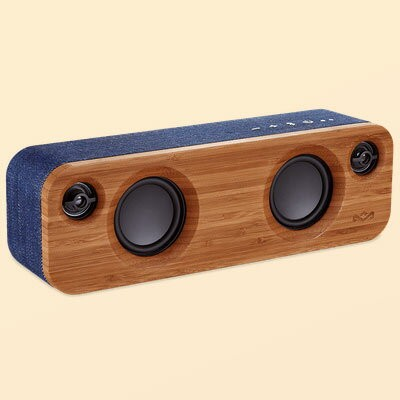 【長期保証付】The House of Marley EM GET TOGETHER MINI DN(デニム) GET TOGETHER MINI スピーカー Bluetooth接続