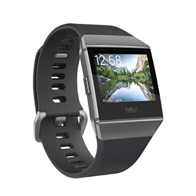 Fitbit フィットビット スマートウォッチ iONIC GPS搭載 iOS/android対応 バッテリーライフ最大5日間 睡眠ステージ記録 歩数&距離&カロリー記録 耐水50m仕性能 着信...