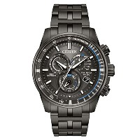 Citizen Watches Mens at4127–52h eco-drive One Size Grey Ion Plated