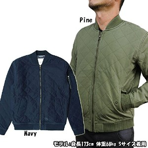 "【Deus Ex Machina】デウス・エクス・マキナ""ELIAS QUILTED BOMBER JACKET"" DMF76657"