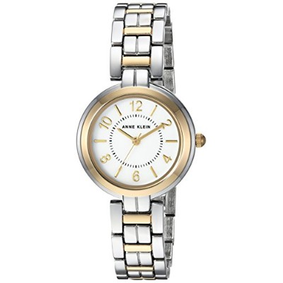 Anne Klein Women's Quartz Metal and Alloy Dress Watch%カンマ% Color:Two Tone (Model: AK/3071MPTT)