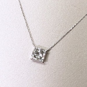 One&Only Jewellery 鑑定書付 ダイヤモンド 1.5ct プリンセスカット ペンダント ネックレス 4月誕生石