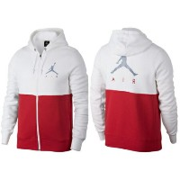 nike ナイキ 【メンズサイズ】 Jordan Jumpman Air Graphic Full-Zip Hoodie(White/University Red/Reflective Silver...