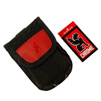 CHROME ACCESORY POUCH BLACK/RED クローム アクセサリーポーチ ブラック×レッド [並行輸入品]