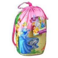 プリンセスIndoor Sleeping Bag in printed Drawstring Bag