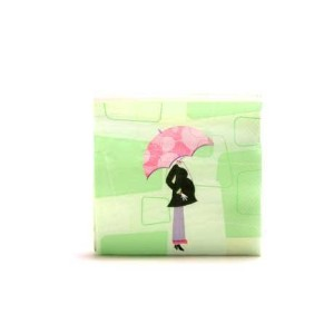 Mod Mom Baby Shower Lunch Napkins 16ct