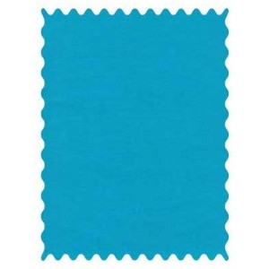SheetWorld Turquoise Woven Fabric - By The Yard by sheetworld