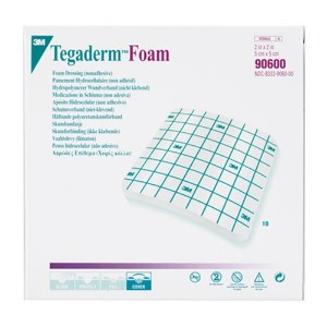 3M Tegaderm Foam Non Adhesive Dressing 90600, 10 Pieces (Pack of 4) by 3M