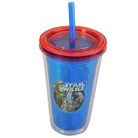 STAR WARS EPISODE 7 12 Ounce Travel Water Bottle Tumbler with Straw – ドロイド