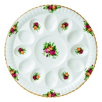 Royal Albert Old Country Roses Deviled Egg Dish、11.5 ""