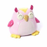 Nat and Jules Owl Bank, Pink by Nat and Jules