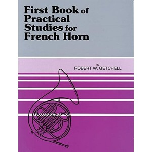 First Book of Practical Stuides for French Horn