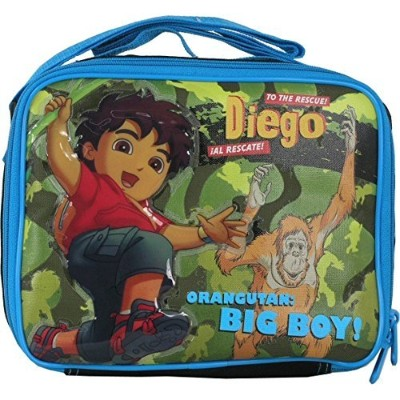 Lunch Bag - Go Diego Go - Jump in the Forest Boys Gifts Toys New Case 812888