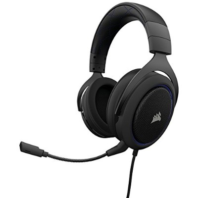 Corsair HS50 STEREO Gaming Headset-Blue- ゲーミングヘッドセット SP774 CA-9011172-AP