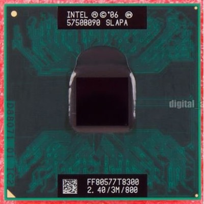 インテル Intel Core 2 Duo Mobile T8300 2.40GHz SLAPA
