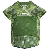 High QualityE SEAHAWKS CAMOUFLAGE DOG JERSEY, X-Small. - CAMO PET Jersey available in 5 sizes & 32...