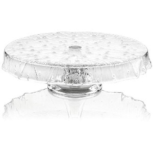 IVV Glassware Rugiada Footed Cakestand 13-Inch クリア 3169/1