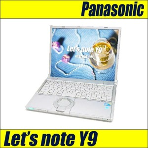 中古パソコン Panasonic Let's note CF-Y9JWAADS/Core2Duo 1.6GHz/MEM4GB/HDD250GB/WLAN/14.1型XGA/Windows 10...