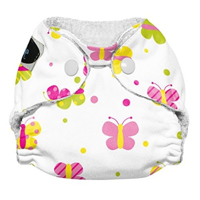 Imagine Baby Products Newborn Stay Dry All-In-One Snap Cloth Diaper, Flutter by Imagine Baby...