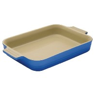 Le Creuset Stoneware 7-by-5-inch Rectangular Dish , Marseille