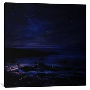 """iCanvasART 1Piece不眠症キャンバスプリントbyセバスチャンdel Grosso、12"""" x 12"""" / 1.5""""奥行"""