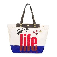 Vivienne Westwood Anglomania Get A Life トートバッグ - ヌード&ナチュラル