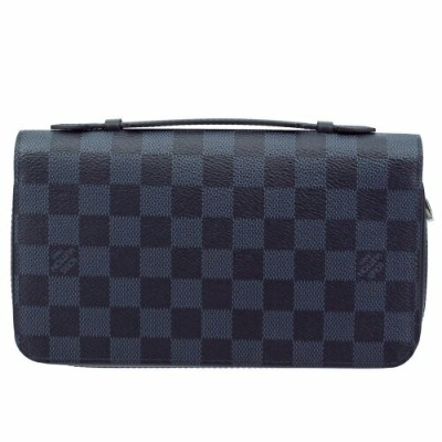 LOUIS VUITTON ルイヴィトン 長財布 メンズ ジッピーXL N41590 ダミエ・コバルト