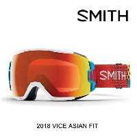 2018 SMITH スミス ゴーグル GOGGLE VICE BURNSIDE/CHROMAPOP EVERYDAY RED MIRROR ASIAN FIT