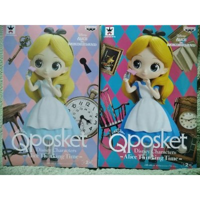 【Disney/ディズニー】Q posket Disney Characters Alice Thinking Time アリス【全2種セット】シンキングタイム