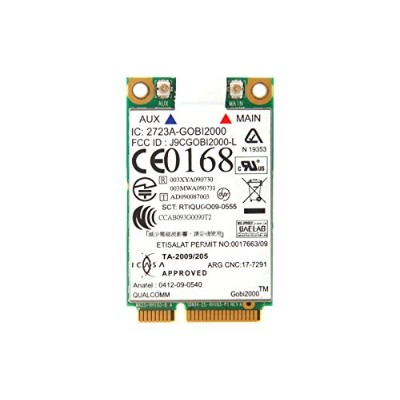 Lenovo純正 QUALCOMM Gobi 2000 3G ワイヤレスWAN WWANカード GPS内蔵 60Y3183 for Thinkpad ThinkPad X100e, X120e,...