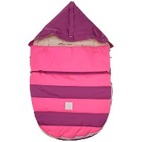 7AM Enfant Bee Pod Baby Bunting Bag for Strollers and Car-Seats with Removable Back Panel, Grape...