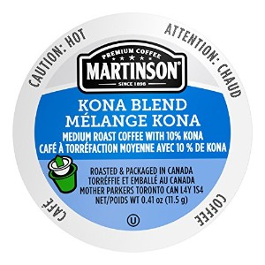 Martinson Coffee, Kona Blend, 24 Single Serve RealCups by Martinson