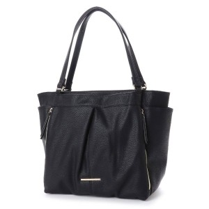 【SALE 20%OFF】マリ クレール ビス marie claire bis 超軽量フェイクレザータックトート (ブラック) レディース