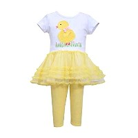 Bonnie Jean baby-girls Easter Chickチュチュセット 3-6 Months R04518BA