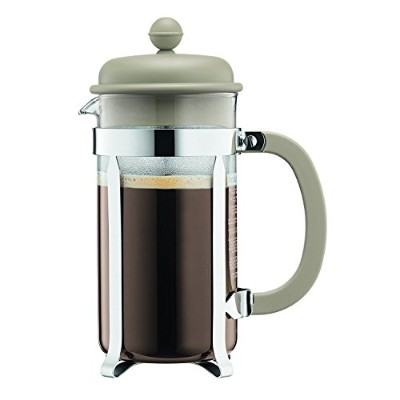 High Quality 1918-133B Caffettiera Coffee Maker, 8 Cup/1.0 L/34 oz, Sand
