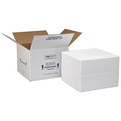 High Quality XM6C Thermo Chill Expand-em Series Insulated Carton with Foam Shipper, Interior...