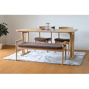 ISSEIKI ダイニングセット 4点セット テーブル チェア ベンチ SOUR TABLE + CHAIRx2 + BENCH 4SET
