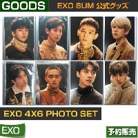 EXO 4x6 PHOTO SET / SM SUM ARTIUM /即日発送/送料無料