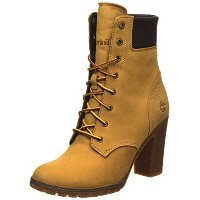 Timberland Womens Earthkeepers Glancy 6&quot  Boot Wheat Nubuck 7.5 B - Medium
