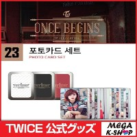 TWICE PHOTOCARD SET[TWICE ONCE BEGIN MD][JYP][公式グッズ]