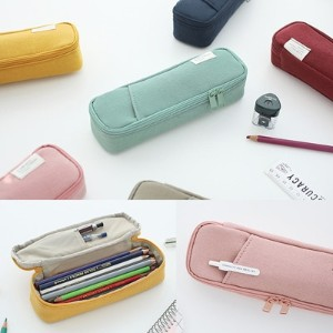 [SWEET MANGO] LIVEWORK Pocket Pencil Pouch V.3 - [ Pen Case かわいい ペンケース 筆箱  韓国 文房具 ]