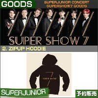 2. ZIPUP HOODIE / SUPERJUNIOR WORLD TOUR [SUPER SHOW 7] GOODS /即日発送/送料無料