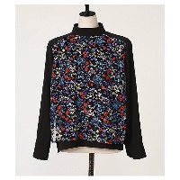 PEGGY LANA  Front Layer Embroidery BL(440BS730-1450) 【三越・伊勢丹/公式】 レディースウエア~~シャツ