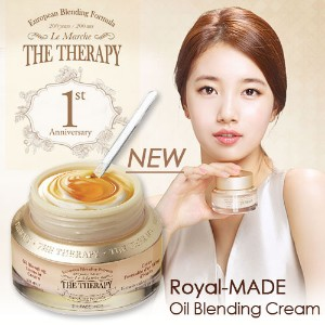 THE FACE SHOP The Therapy Royal-Made Oil Blending Cream ザフェイスショップ ザフェイスショップ ザ・セラピーロイヤルメイドオイルブレンドクリーム