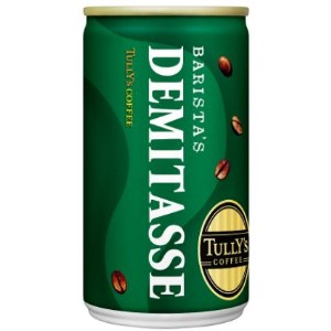 【送料無料】TULLY'S COFFEE BARISTA'S DEMITASSE  缶165g×30本