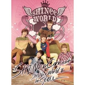 韓国音楽 Shinee(シャイニー)- Shinee The 2nd Concert Album : Shinee World 2 In Seoul (2DISC) SNEE02L