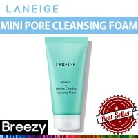 BREEZY ★ [Laneige] Mini Pore Double Clearing Cleansing Foam / 150ml / Amorepacific
