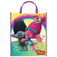 (トロールズ) 12X Trolls Party Gift Favor Tote Bag (12 Bags)