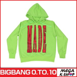 [即日発送]BIGBANG -BIGBANG HOODIE[NEONGREEN][BIGBANG THE CONCERT 0.TO.10 FINAL IN SEOUL MD][公式グッズ][YG]