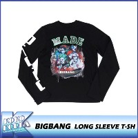 10th BIGBANG/LONG SLEEVE T-SH/BIGBANG THE  CONCERT 0.TO.10 FINAL IN SEOUL MD/公式グッズ/YG/ビッグバン/ロンT
